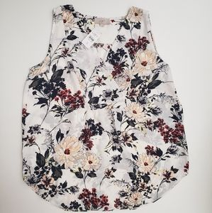 NWT LOFT Floral Print Flowy Blouse